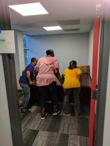 CMS Staff moved into the new office